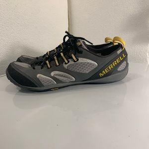 Merrell men's embark glove gortex trainers S-9.5